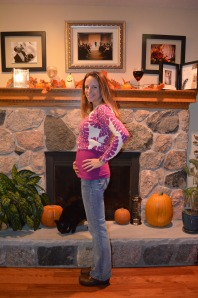 Here's my 5 month pregnancy belly shot!